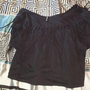 Victoria Secret crop top off the shoulder top